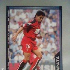 Cromos de Fútbol: ZAPATA 372 VALLADOLID FICHAS LIGA 2003 2004 03 04 MUNDICROMO MC ******. Lote 237402265