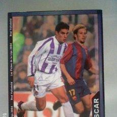 Cromos de Fútbol: OSCAR 369 VALLADOLID FICHAS LIGA 2003 2004 03 04 MUNDICROMO MC. Lote 237402430
