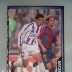 Cromos de Fútbol: OSCAR 369 VALLADOLID FICHAS LIGA 2003 2004 03 04 MUNDICROMO MC **. Lote 237402495