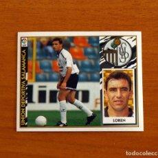 Cromos de Fútbol: SALAMANCA - LOREN - EDICIONES ESTE 1997-1998, 97-98 - NUNCA PEGADO. Lote 237520705
