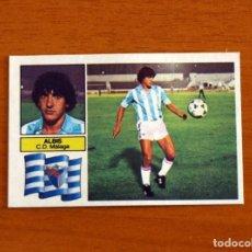 Cromos de Fútbol: MÁLAGA - ALBIS - COLOCA - EDICIONES ESTE 1982-1983, 82-83 - NUNCA PEGADO. Lote 237521700
