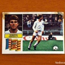 Cromos de Fútbol: VALENCIA - ROBERTO - LIGA 1982-1983, 82-83 - EDICIONES ESTE. Lote 237521930