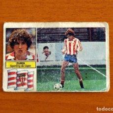 Cromos de Fútbol: SPORTING DE GIJÓN - ZURDI - COLOCA - LIGA 1982-1983, 82-83 - EDICIONES ESTE - NUNCA PEGADO. Lote 237523755