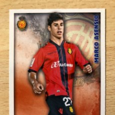 Cromos de Fútbol: # 994 MARCO ASENSIO RCD MALLORCA ROOKIE CARD MUNDICROMO 2015, REAL MADRID MINT CONDITION PERFECTO. Lote 237783770