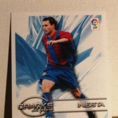 Cromos de Fútbol: INIESTA ROOKIE SUPERLIGA DE LAS ESTRELLAS 2002 2003 NUEVO. Lote 237784485
