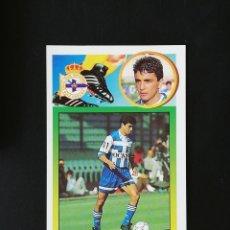 Figurine di Calcio: DEP BEBETO DEPORTIVO DE LA CORUÑA 1993 1994 ESTE 93 94 ADHESIVO SIN PEGAR NUNCA PEGADO. Lote 238253680