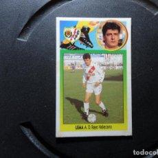 Cromos de Fútbol: LEMA DEL RAYO VALLECANO ALBUM ESTE LIGA - 1993- 1994 ( 93 - 94 ) CARTON. Lote 261538740