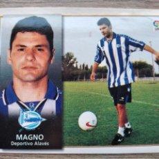 Cromos de Fútbol: LIGA 1998/99,DEPORTIVO.ALAVES,MAGNO(FICHAJE 15BIS). Lote 238566735