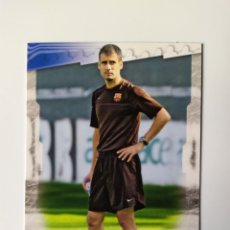 Figurine di Calcio: MUNDICROMO LAS FICHAS DE LA LIGA 2009 GUARDIOLA ERROR N° 58 BARCELONA. Lote 267448074