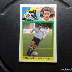 Cromos de Fútbol: ESTEBAN TORRE DEL RACING DE SANTANDER ALBUM ESTE LIGA 1993- 1994 ( 93 - 94 ) CARTON. Lote 261538765