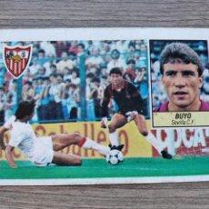 Cromos de Fútbol: LIGA 84/85 SEVILLA,BUYO (VERSIÓN DIFÍCIL) NUNCA PEGADO.. Lote 239801145