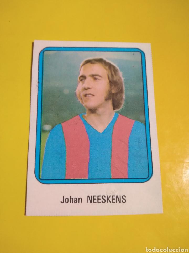JOHAN NEESKENS.(MUY DIFICIL)VULCANO 75/76 (Coleccionismo Deportivo - Álbumes y Cromos de Deportes - Cromos de Fútbol)