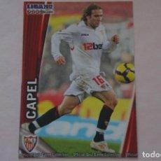 Cromos de Fútbol: TRADING CARD DE FUTBOL CAPEL DEL SEVILLA F.C. BAJA Nº 127 LIGA MUNDICROMO 2011-2012/11-12. Lote 268898134