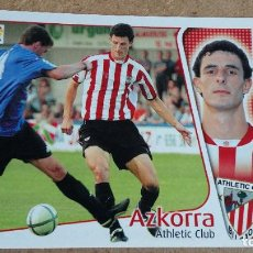 Cromos de Fútbol: EDICIONES ESTE 2004/2005 04 05 - FICHAJE 30 AZKORRA - ATH. CLUB BILBAO ( NUNCA PEGADO ) 126. Lote 241173100