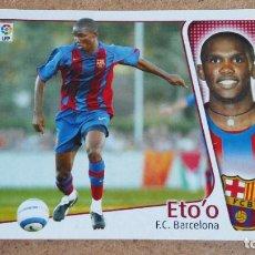 Cromos de Fútbol: EDICIONES ESTE 2004/2005 04 05 - FICHAJE 28 ETO'O - FC. BARCELONA ( NUNCA PEGADO ) 147. Lote 241177525