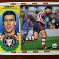Cromos de Fútbol: LIGA 96/97,LOGROÑÉS,HERRERO(BAJA,NUNCA PEGADO). Lote 241477840