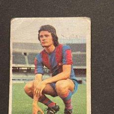 Cromos de Fútbol: ALBALADEJO DEL F.C.BARCELONA (CROMO FUTBOL - ED. ESTE LIGA 1974-75) - FICHAJE 10 - NUNCA PEGADO. Lote 241805275