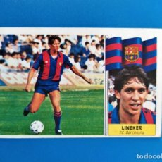 Cromos de Fútbol: LIGA ESTE 1986 1987 / 86 87 LINEKER (BARCELONA) FICHAJE Nº 20 COLOCA NUNCA PEGADO (SIN PEGAR). Lote 241930810