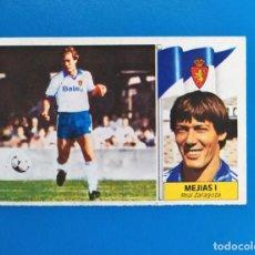 Cromos de Fútbol: LIGA ESTE 1986 1987 / 86 87 MEJÍAS I (ZARAGOZA) FICHAJE Nº 38 SIN PEGAR (NUNCA PEGADO). Lote 241943580