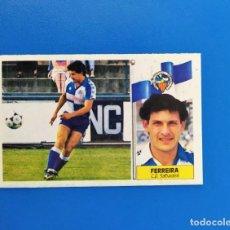 Cromos de Fútbol: LIGA ESTE 1986 1987 / 86 87 FERREIRA (SABADELL) COLOCA SIN PEGAR (NUNCA PEGADO). Lote 242043805