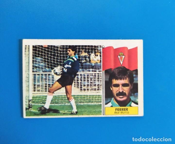 LIGA ESTE 1986 1987 / 86 87 FERRER (MURCIA) BAJA SIN PEGAR (NUNCA PEGADO) (Coleccionismo Deportivo - Álbumes y Cromos de Deportes - Cromos de Fútbol)
