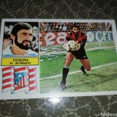 Cromos de Fútbol: PEREIRA AT. DE MADRID, COLOCA, EDICIONES ESTE, LIGA 82 83, NUEVO, SIN PEGAR. Lote 242214195