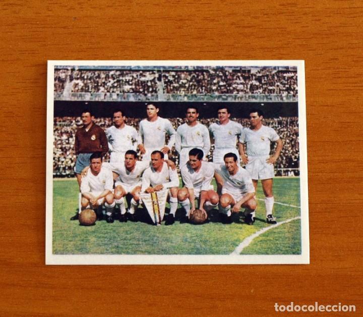 REAL MADRID - Nº 28, CAMPEÓN SEGUNDA COPA EUROPA - MAGIC BOX 1994-1995 -94-95 - NUNCA PEGADO (Coleccionismo Deportivo - Álbumes y Cromos de Deportes - Cromos de Fútbol)