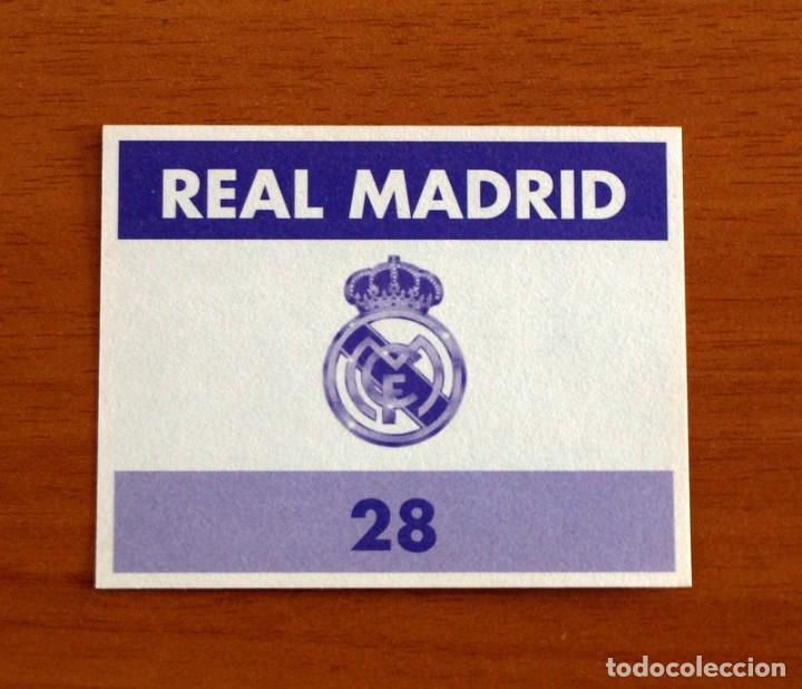 Cromos de Fútbol: Real Madrid - Nº 28, Campeón segunda copa Europa - Magic Box 1994-1995 -94-95 - Nunca pegado - Foto 2 - 253572355