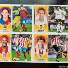 Cromos de Fútbol: CROMO 2009 2010 MESSI PROMOCION CON 3 MAS. NUNCA PEGADO. Lote 242487530