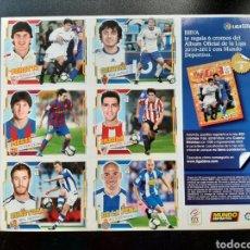 Cromos de Fútbol: CROMO 2010 2011 MESSI. PROMOCION MUNDO DEPORTIVO CON 5 MAS. Lote 242488590