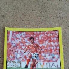 Cromos de Fútbol: SUPERSPORT 1988 - PANINI - 119 MARCO VAN BASTEN - HOLANDA - ( NUNCA PEGADO ). Lote 242909080