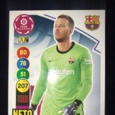 Cromos de Fútbol: 57 NETO ADRENALYN 20 21 2020 2021 F.C. BARCELONA. Lote 254807700