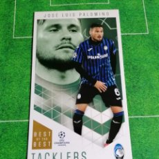 Cromos de Fútbol: 11 JOSE LUIS PALOMINO ATALANTA TACKLERS TOPPS BEST OF THE BEST CHAMPIONS LEAGUE 2020 2021 20 21. Lote 243174580