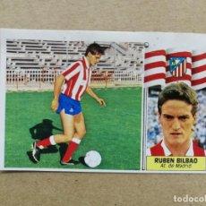 Cromos de Futebol: RUBÉN BILBAO, AT DE MADRID, ÚLTIMO FICHAJE N°23, EDITORIAL ESTE 86/87, RECUPERADO. Lote 243189990