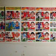 Cromos de Fútbol: CROMOS FUTBOL LIGA ESTE DE LA REVISTA JUGON 13 14. Lote 243258030