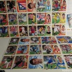 Cromos de Fútbol: LOTE DE 60 CROMOS FUTBOL LIGA ESTE EN LAMINAS DEL 1 AL 10 DEL BBVA. Lote 243262320