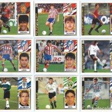 Cromos de Fútbol: LOTE DE CROMOS DE LIGA 97 / 98 DE EDICIONES ESTE - COLOCAS - FCHAJES - CROMOS NUNCA PEGADOS. Lote 243267470