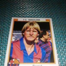 Cromos de Fútbol: CROMO BERND SCHUSTER F.C. BARCELONA, FÚTBOL 88 N°53, NUEVO, SIN PEGAR.. Lote 243277585