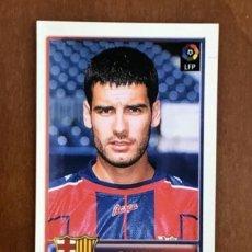 Cromos de Fútbol: BOLLYCAO FCBARCELONA 97 98 JOSEP GUARDIOLA CROMO STICKER. Lote 243291015