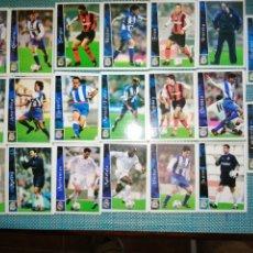 Cromos de Fútbol: LOTE 50 CROMOS DE MUNDICROMO 2002 2003. Lote 243432185