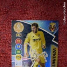 Cromos de Fútbol: PAREJO EDICION LIMITADA FIRMADA VILLARREAL ADRENALYN XL 2020 2021 CARDS PANINI 20 21. Lote 243456835