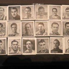 Cromos de Fútbol: LOTE DE 18 CROMOS DE FUTBOL - FOTO CARNET (NUNCA PEGADOS). Lote 243462370