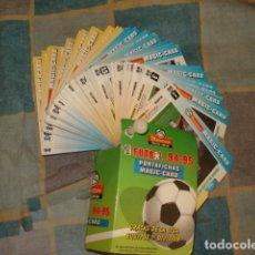 Cromos de Fútbol: FUTBOL 94-95, PORTAFICHAS MAGIG-CARD, COMPLETA, 50 FICHAS, BUEN ESTADO. Lote 243571435