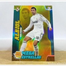 Cartes à collectionner de Football: MEGACRACKS 2010 2011 10 11 PANINI. ALBIOL 369 ESTRELLAS (REAL MADRID CARD LIGA ALBUM MEGA CRACKS MGK. Lote 243683650