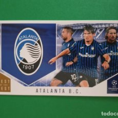 Cromos de Fútbol: 102 ATALANTA - TOPPS BEST OF THE BEST - CHAMPIONS LEAGUE 20/21. Lote 243842910