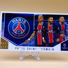 Cromos de Fútbol: TOPPS: UCL CHAMPIONS BEST OF THE BEST Nº 116 PARIS SAINT-GERMAIN. Lote 243850095