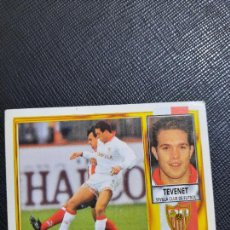 Cromos de Fútbol: TEVENET SEVILLA ESTE 1995 1996 CROMO FUTBOL LIGA 95 96 SIN PEGAR - 1836. Lote 243879460