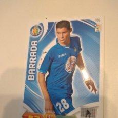 Cromos de Fútbol: C-JOM CROMO FUTBOL ADRENALYN XL 2011 2012 11 12 PANINI GETAFE BARRADA. Lote 243879535