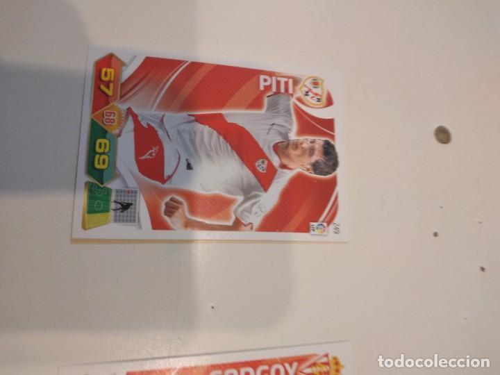 C-JOM CROMO FUTBOL ADRENALYN XL 2011 2012 11 12 PANINI RAYO VALLECANO PITI 249 (Coleccionismo Deportivo - Álbumes y Cromos de Deportes - Cromos de Fútbol)