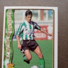 Cromos de Fútbol: Nº 297 BILLABONA, R. RACING C. SANTANDER, FICHAS LIGA 1996 1997 96/97 MUNDICROMO. Lote 243943800